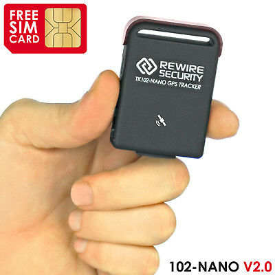 102 NANO Mini Car Vehicle GPS Vehicle Tracker Tracking Device Compact TK102 -X0Z