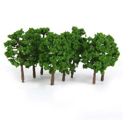 20 Dark Green Model Tree Train Railroad Street Park Scenery Layout N Gauge