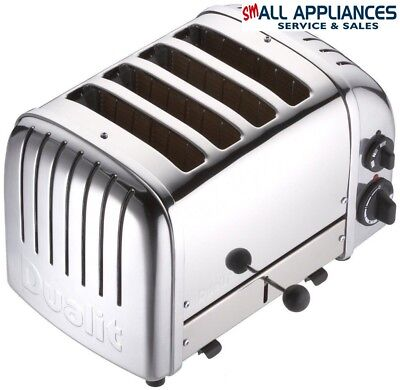Dualit 4 Slice Toaster 40352 Fitted With Aus P/end 2Yr Element Wty In Heidelberg