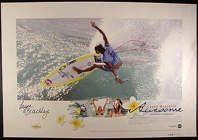 """Layne Beachley,signed Limited Edition Print """"Awesome"""",seven times world Champion"""