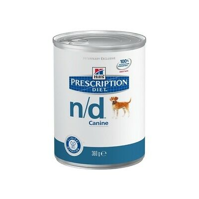 HILL S prescription diet n/d canine mangime umido 12 lattine da 360 gr.