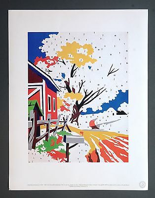 Andy Warhol Foundation Ltd. Ed. Offset Lithography Do it yourself Landscape 1962