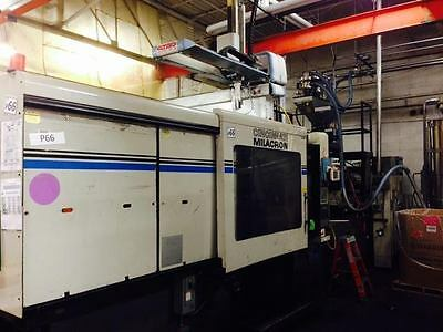 1996 Cincinnati VT-550-54 Plastic Injection Molding Machine