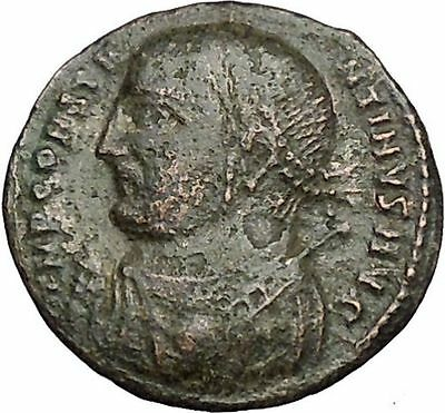 Constantine I The Great 313AD Ancient Roman Coin Zeus Jupiter Cult  i50707