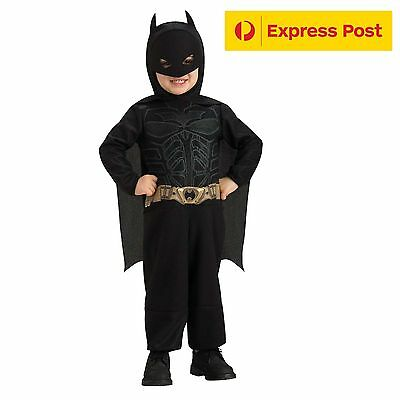 Child Batman Dark Knight Rises Costume Size Infant and Toddler