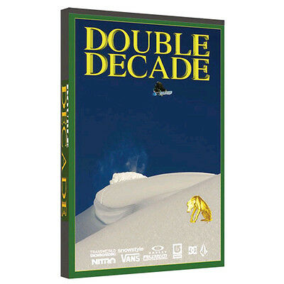 New Sealed Double Decade Snowboard Dvd Mack Dawg Productions Burton
