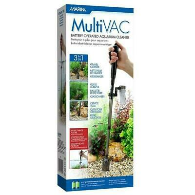 Marina Multi Vac 3 in 1 Aquarium Gravel Cleaner Battery Powered