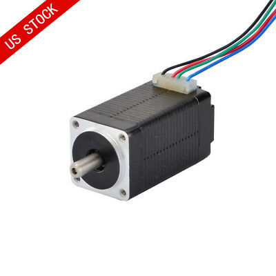 US Ship Nema 8 Stepper Motor 1.8deg Bipolar 0.6A 5.7oz.in 20x20x38mm 4-wire CNC