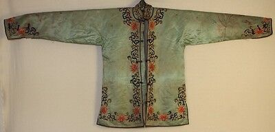 Chinese Old hand embroidery Jacket Costume