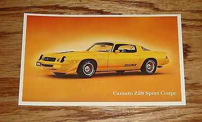 Original 1979 Chevrolet Camaro Z28 Sport Coupe Post Card 79 Chevy