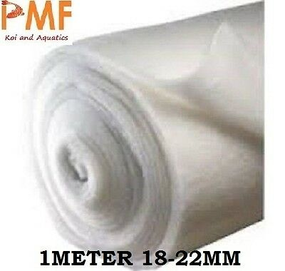 1M Aquarium Pond fish tank Filter Wool 18-22mm CHEAPEST ON EBAY