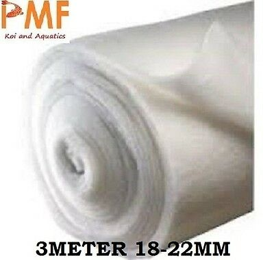 3M Aquarium Pond fish tank Filter Wool 18-22mm CHEAPEST ON EBAY