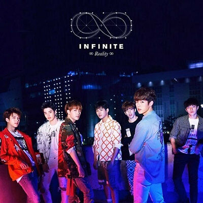 INFINITE-[REALITY]5th Mini Album CD +Photo Card+150p Photo Booklet K-POP Sealed