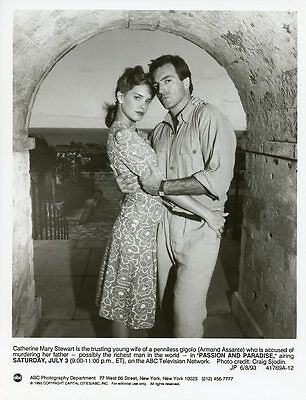 Catherine Mary Stewart Armand Assante Portrait Passion And Paradise Abc Tv Photo