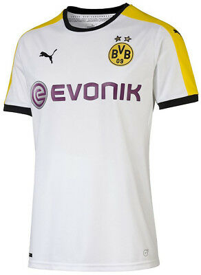 Puma BVB Dortmund Third 2015/16 Mens Football Shirt - White