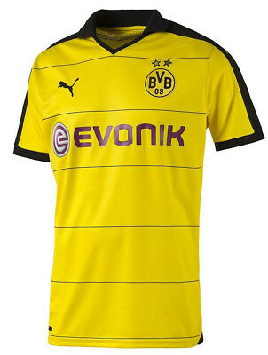 Puma BVB Dortmund Home 2015/16 Mens Shirt