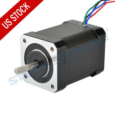 US Ship High Torque 92oz.in Nema 17 Stepper Motor 2.1A CNC/3D Printer Extruder