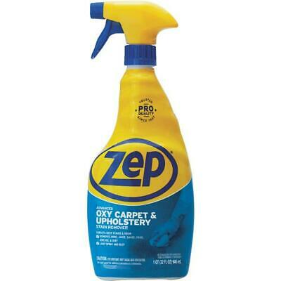 12 Pack Zep 32 Oz Commercial Oxy Upholstery & Carpet Stain Cleaner ZUOXSR32