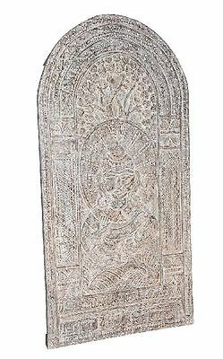 Beautiful hand -carved decorative panel door from India
