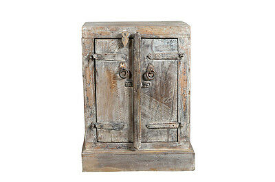 Bedside table double wooden door India 1935 Luxury Park