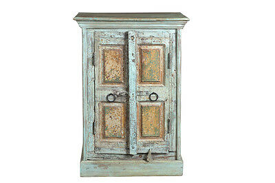Sideboard light blue front shabby chic India Luxury Park