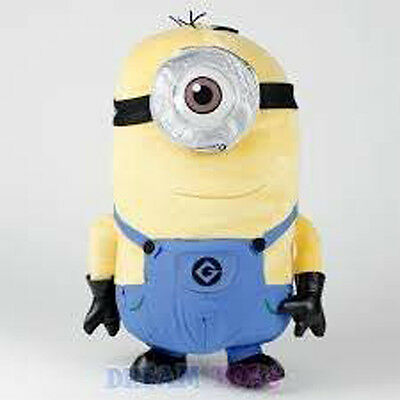 Despicable Me 2 Plush Minion Backpack Stuart One Eye New With Tags