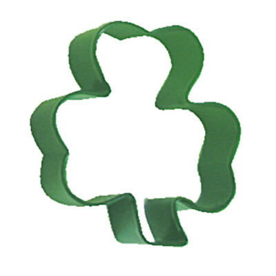 Eddingtons Green Shamrock Cookie Cutter - St Patrick's Day Biscuit Cutter Metal