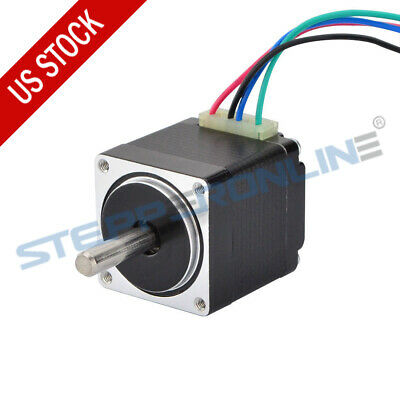 US Ship Mini Stepper Motor Nema11 Bipolar 1.8deg 0.67A 8.5oz-in 28x28x31mm 4wire
