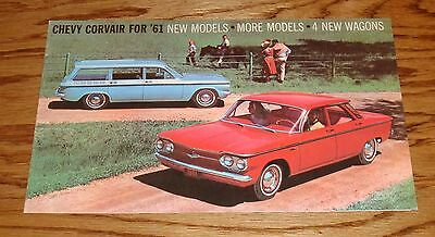 1961 Chevrolet Corvair Sales Brochure 61 Chevy Monza Coupe