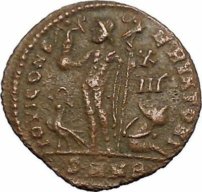 Licinius I Constantine The Great enemy Ancient Roman Coin Jupiter Cult  i50828