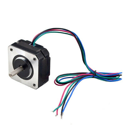 US Ship Short Body Nema 17 Stepper Motor Bipolar 1A 18.4oz.in 42x42x20mm 4-wires