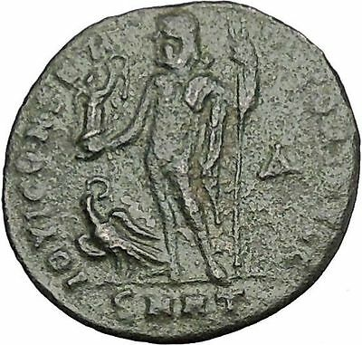 Licinius I Constantine The Great enemy 313AD Ancient Roman Coin Jupiter  i50840