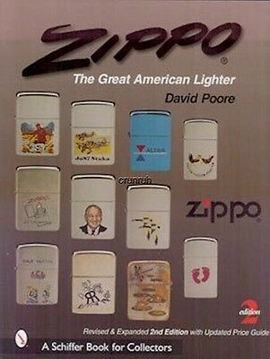 Zippo The Great American Lighter, 2nd ed. New! Free Shipping!