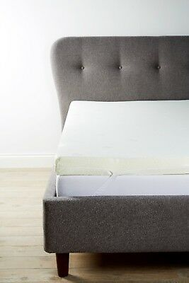 Luxury Orthopaedic Mattress Toppers MEMORY FOAM with Cooling Cover - all uk size