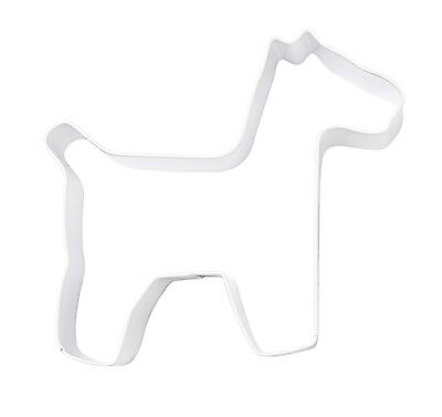 Eddingtons White Dog Cookie Cutter - Pastry and Biscuit Cutter Metal 9.5cm