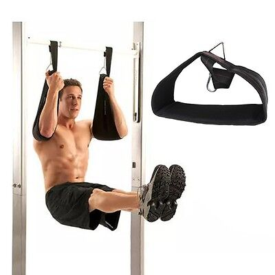 Pellor Gym Hanging Ab Straps With Quick Locks Fitness Sling Abdominal Straps