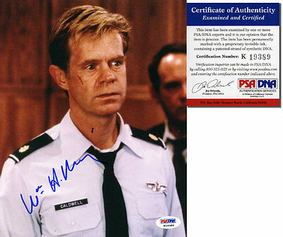WILLIAM H. MACY - Air Force One - Hand Signed 8x10 - PSA/DNA - UACC RD #289
