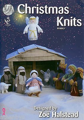 KNITTED NATIVITY STABLE KNITTING PATTERN