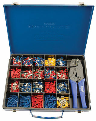 Draper Expert Ratcheting Crimping Tool & Terminal Kit 56383 Expert Quality
