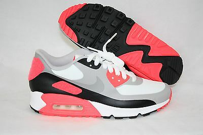 NEW Boys Mens NIKE Air Max 90 V SP 746682 106 Infrared Patches Sneakers Shoes