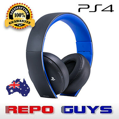 Genuine Sony PlayStation Wireless Stereo Headset 7.1 CH  2.0 for PS4/PS3/PS Vita