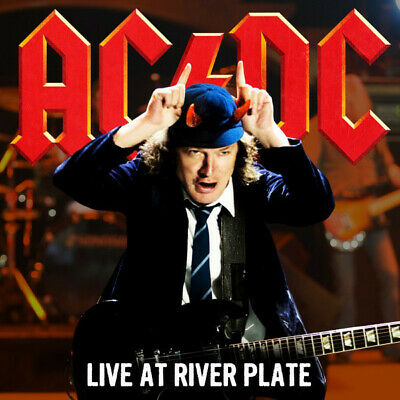 AC/DC Live At River Plate Buenos Aires limited edition RED vinyl 3 LP NEW/SEALED