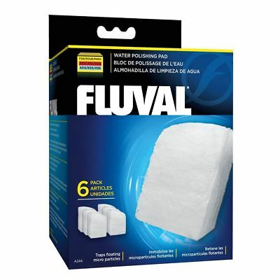 Fluval External Filter Polishing Pad 304/305/404/405 (6 Pack) Filter Media