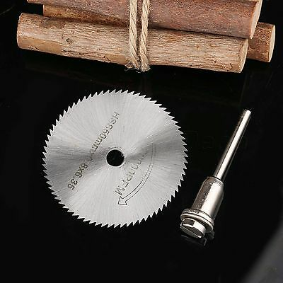 50mm HSS Circular Saw Disc Blades 3.17mm Rod Fr Grinder Metal Rotary Cutter Tool