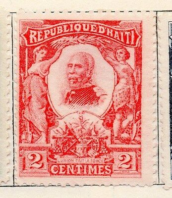 Haiti 1904 Early Issue Fine Mint Hinged 2c. 154286