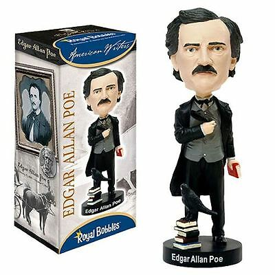 Edgar Allan Poe-Ltd Edition 10 Inch Bobble Head-Brand New-BNIB