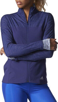 Adidas Supernova Storm Ladies Running Jacket - Blue