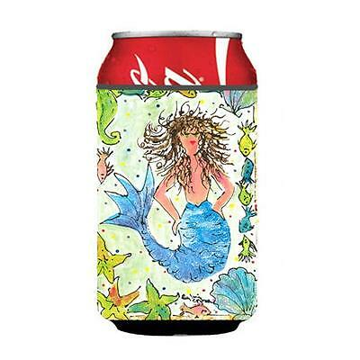 Carolines Treasures 8082CC Mermaid Can Or Bottle Hugger