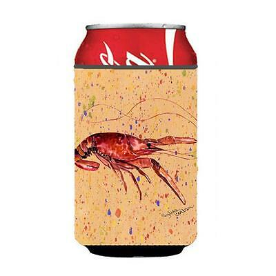 Carolines Treasures 8468CC Crawfish On Coral Can Or Bottle Hugger