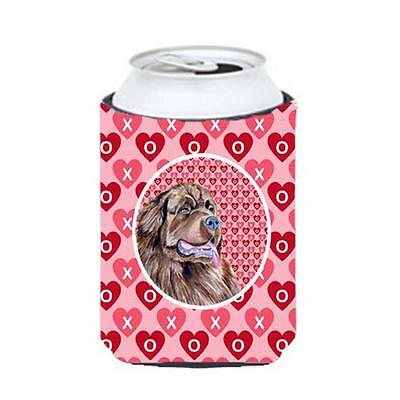 Newfoundland Valentines Love And Hearts Can Or Bottle Hugger 12 oz.